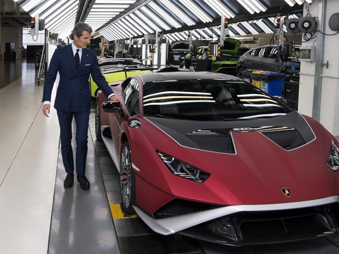兰博基尼将发布V12新车!Aventador继任者/年内亮相