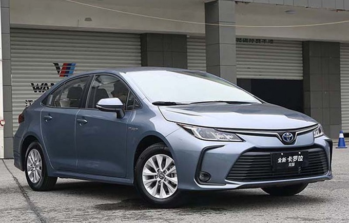丰田新款卡罗拉上市 11.98万元起售/车机系统升级