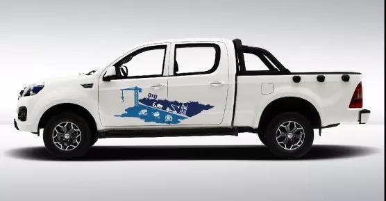 福田拓陆者工程版即将上市 有五十铃动力/平箱车