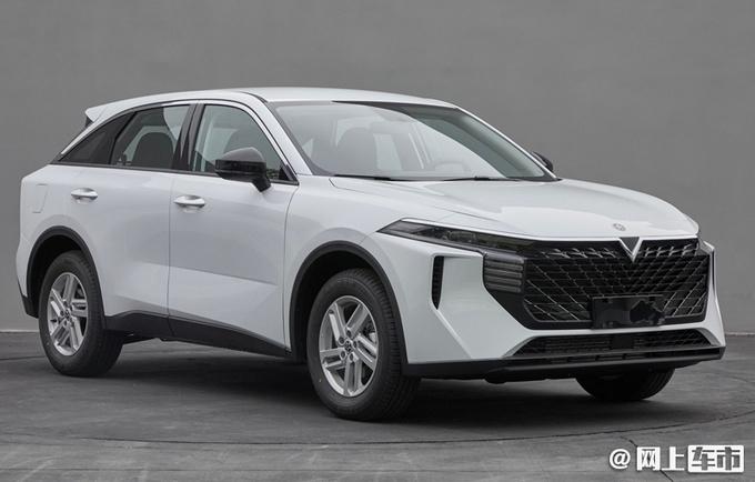 启辰全新SUV实拍 造型酷似雷克萨斯 配贯穿尾灯