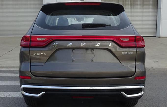 哈弗改款M6即将量产下线年内上市-起售不到7万-图2