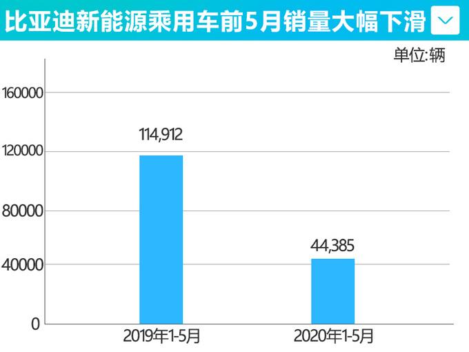 比亚迪新能源前5月销量下滑超6成 全系车型将换新-图4