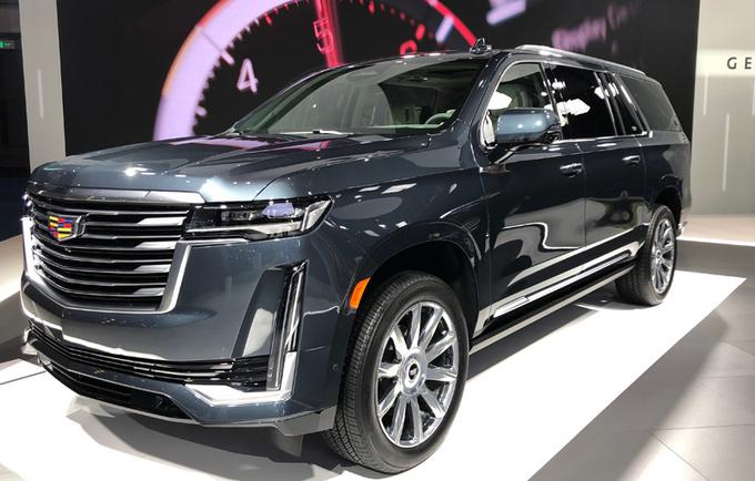 通用将导入全尺寸SUV 推4款车型/凯雷德领衔