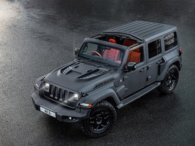 Jeep牧马人改装版亮相!采用军用涂料/内饰更豪华