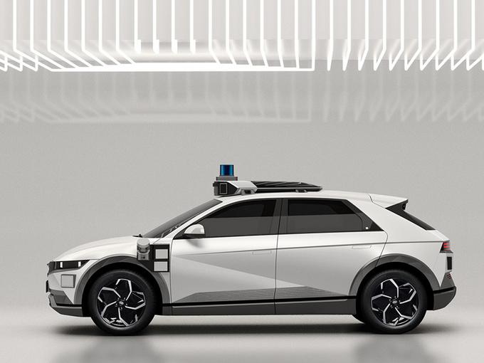 现代IONIQ 5无人驾驶出租车!计划2023年投入使用