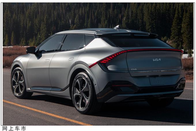 起亚全新SUV假想图曝光贯穿式尾灯/尺寸媲美狮跑-图6