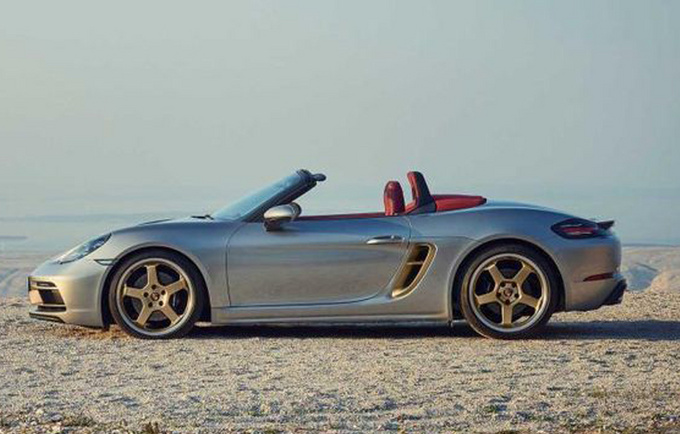 保时捷Boxster新车型发布 预售98.6万 限量1250辆-图2