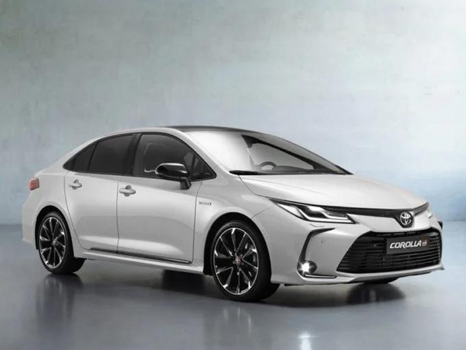 丰田卡罗拉运动版发布!11月投产/搭1.8L混动引擎