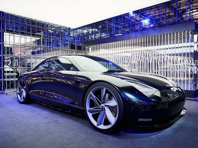 现代全新轿车慕尼黑车展实拍!配劳斯莱斯式对