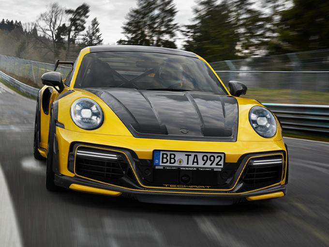 保时捷全新911改装版!限量87台/性能大幅提升