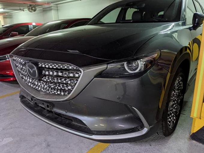 马自达新款CX-9即将上市 搭2.5T/内饰配置升级
