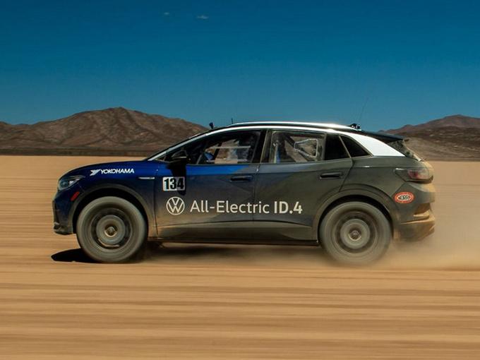 大众ID.4越野版车型 搭单电机和82kW·h电池