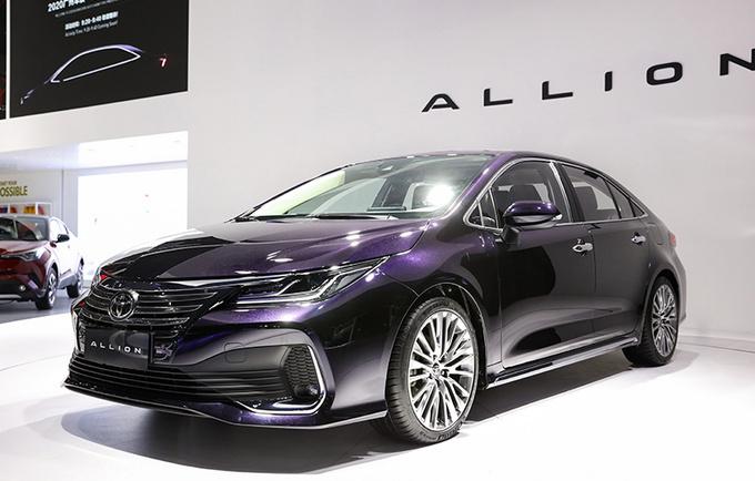 一汽丰田ALLION下月上市!尺寸动力超速腾 或15万