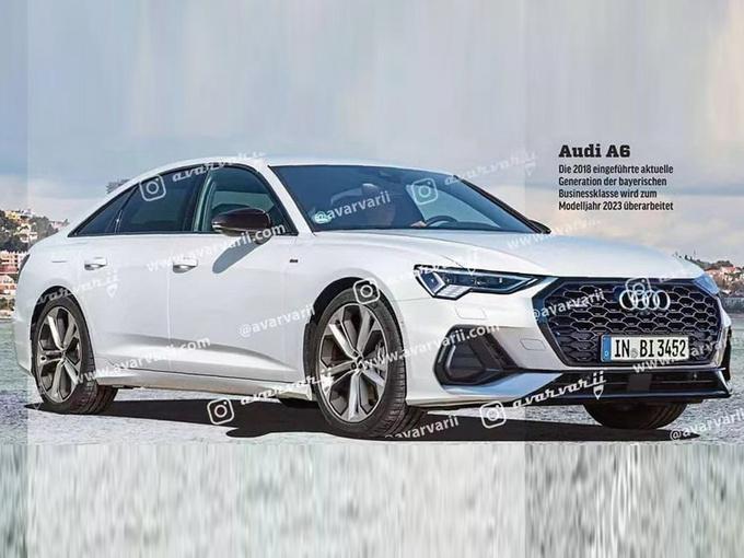 奥迪新款A6曝光!升级大尺寸格栅/车尾酷似A8