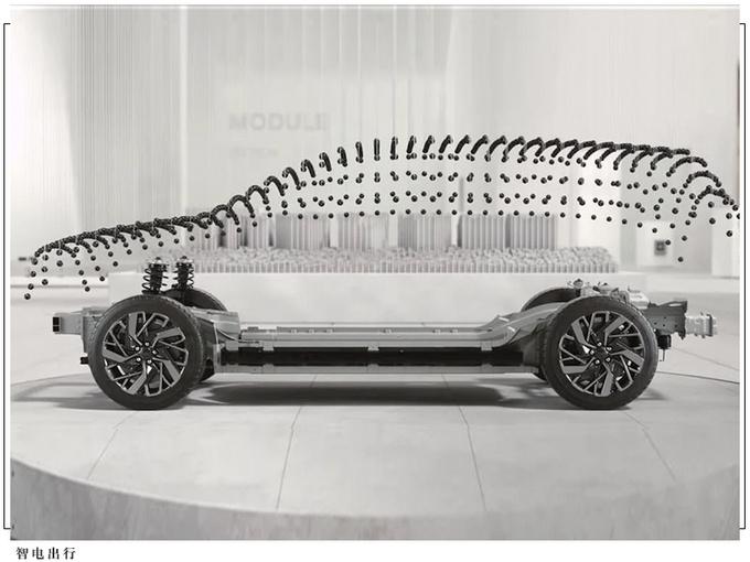 现代全新SUV外观曝光!像素化风格前脸/2024年上市