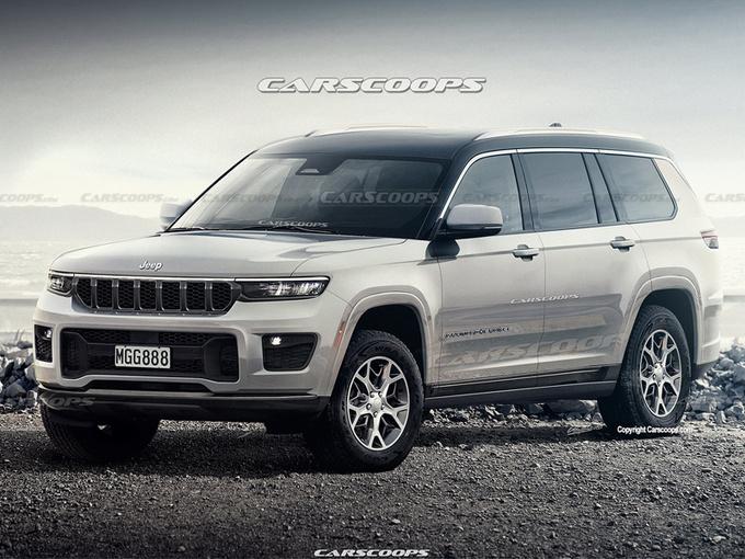 Jeep全新大切诺基曝光!明日即将发布/上半年投产