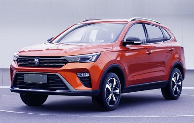 上汽荣威RX3大改款曝光 外观更时尚-增混动版车型