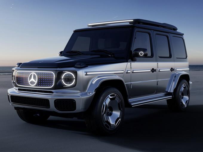 奔驰电动大G发布!保留硬派SUV车架/动力超AMG G