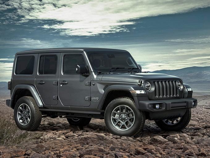 Jeep牧马人特别版价格曝光 限量发售/配纪念徽标