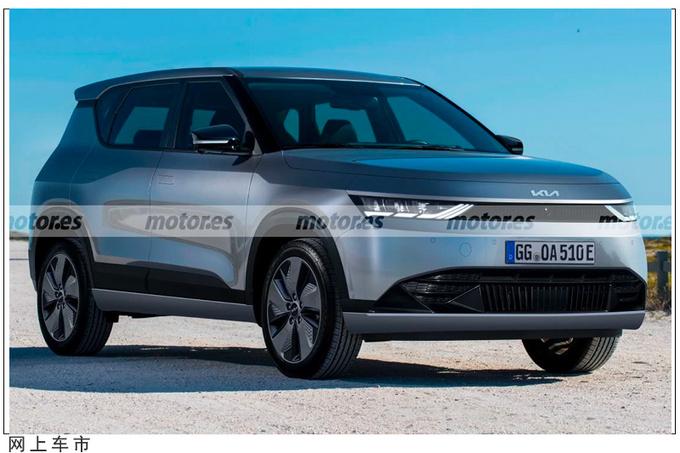 起亚全新SUV假想图曝光贯穿式尾灯/尺寸媲美狮跑-图1