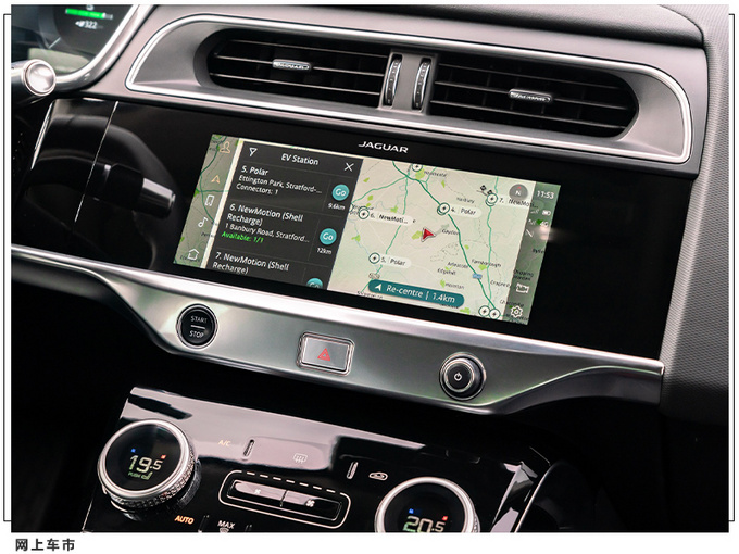捷豹新款I-PACE正式开售 搭全新娱乐系统/充电更快-图6