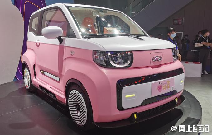 奇瑞QQ冰淇淋四季度上市 比MINI EV大 续航170km