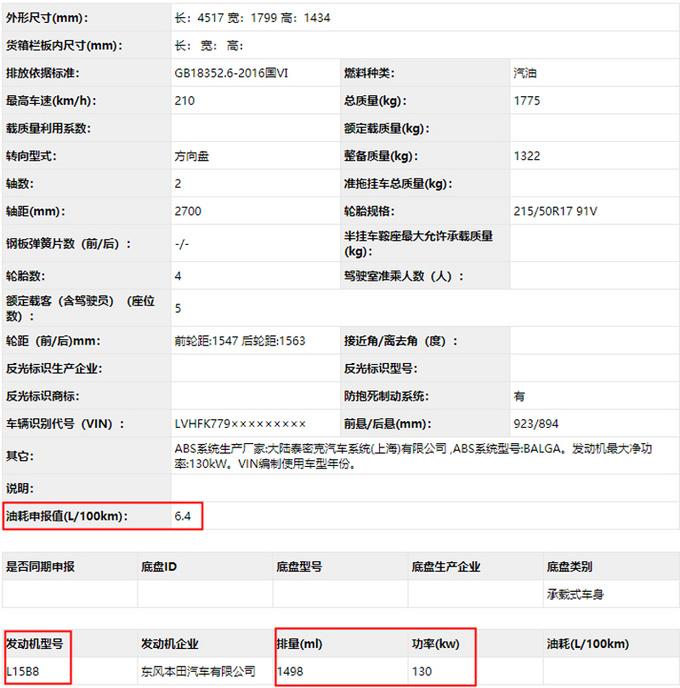 东风本田两厢思域实拍 全系1.5T发动机/油耗5.9L-图4