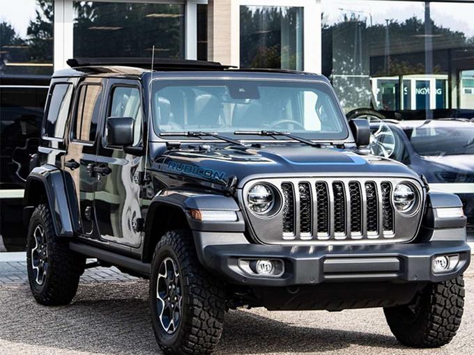 Jeep全新牧马人4xe海外实拍!换搭新动力/配置升级