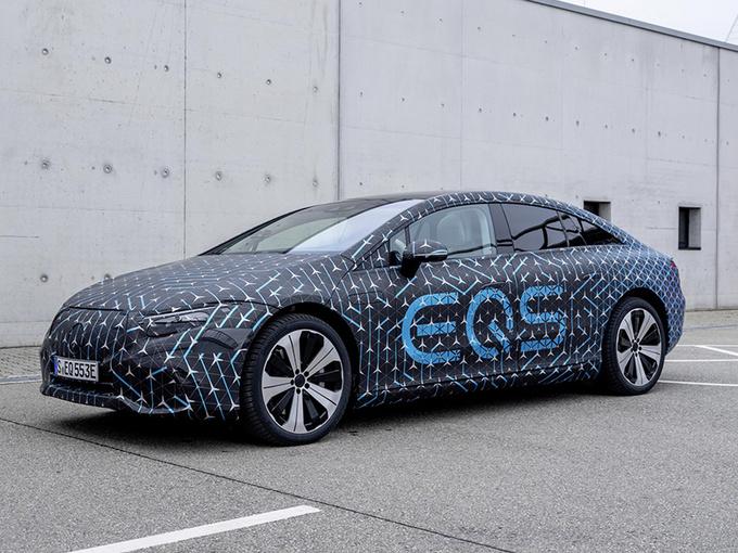 奔驰全新轿车动力曝光 搭双电机/续航媲美Model