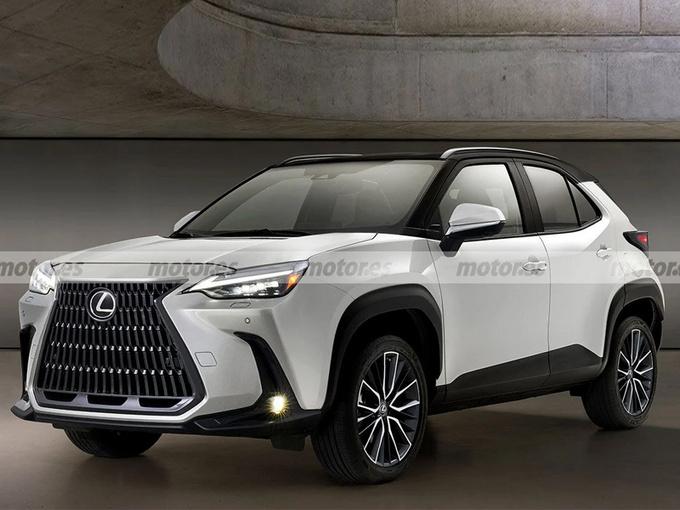 雷克萨斯将推入门SUV!比UX尺寸还小/售价更低
