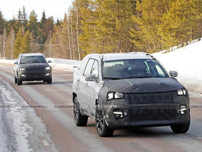 Jeep新款指南者曝光!增推7座车型/搭2.0T引擎