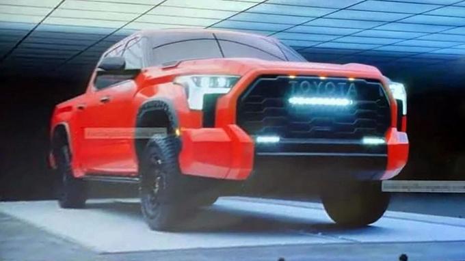 不得已的新车发布!2022款丰田坦途实车正式亮相