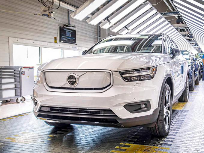 沃尔沃计划提高电动车产能 将推全新轿跑SUV