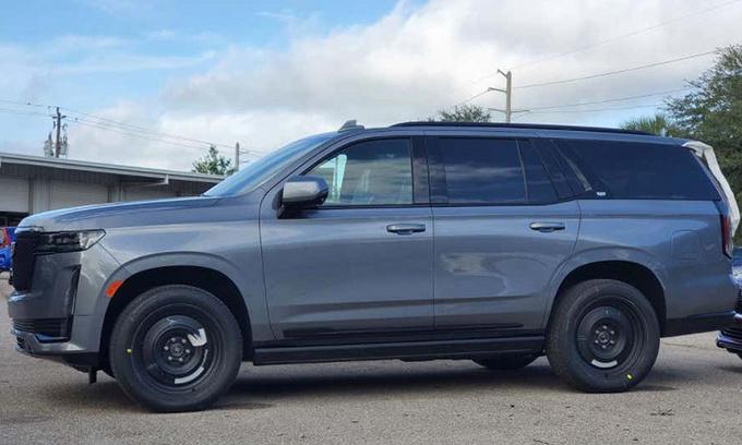 凯迪拉克全新凯雷德配置升级 灰色涂装/钢制轮毂