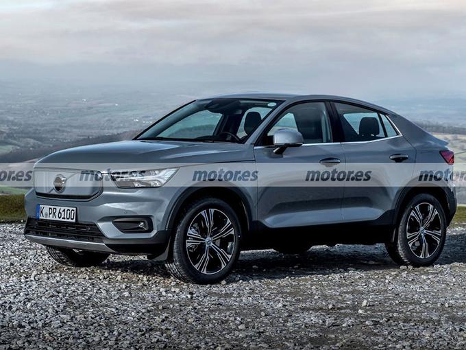 沃尔沃将推全新轿跑SUV 溜背造型/封闭式进气格栅