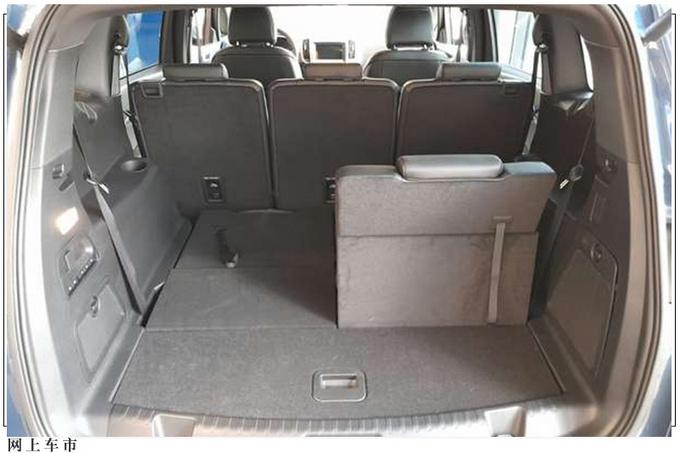 福特新款MPV海外实拍三排座椅/与大众夏朗同级-图6