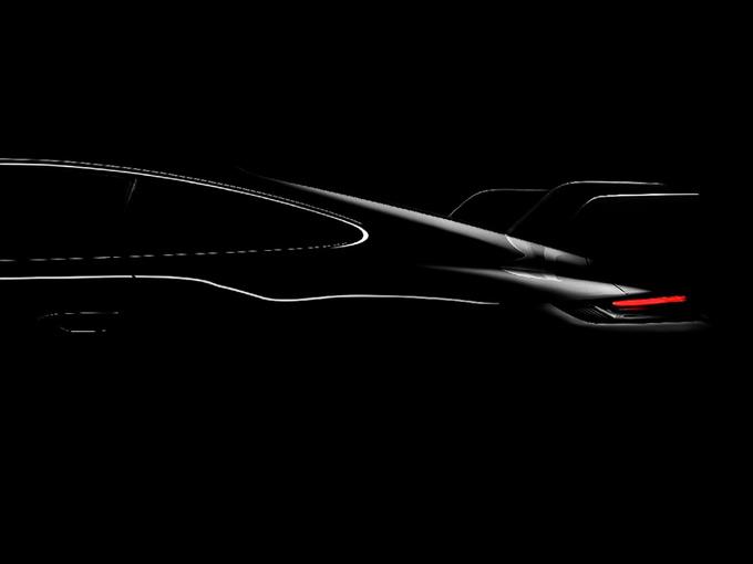 保时捷911 GT3预告图!搭4.0T引擎/尾翼造型夸张