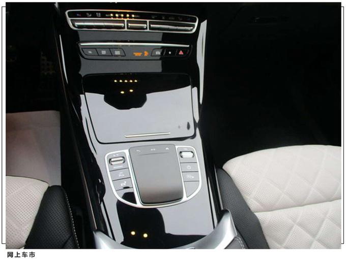 梅赛德斯-奔驰EQC实拍搭双联屏/全新MBUX系统-图8