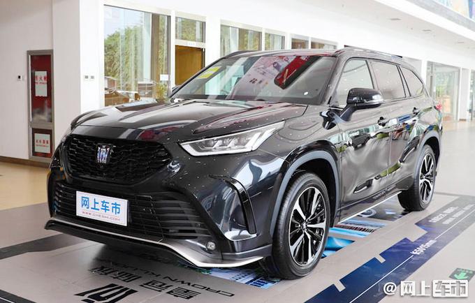 一汽丰田新旗舰SUV 皇冠陆放上市! 27.58-35.08万元