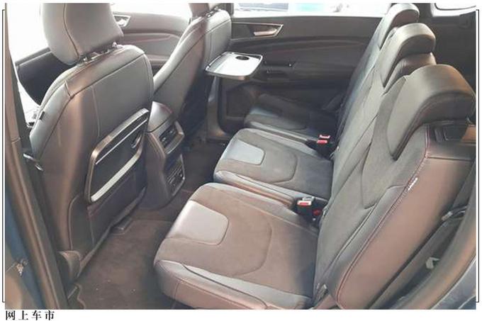 福特新款MPV海外实拍三排座椅/与大众夏朗同级-图5