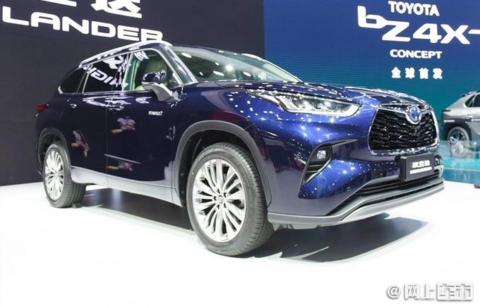 广汽丰田全新汉兰达上市 26.88-34.88万 全系配混动