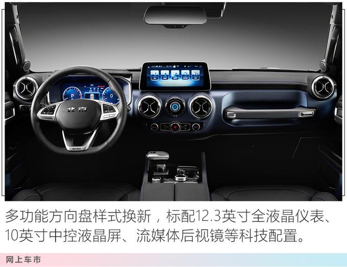 北京新款BJ40升级2.0T+8AT 新增两驱版5天后开卖-图4