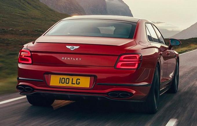 宾利飞驰V8正式上市 售价251.8万元 搭4.0T发动机-图3