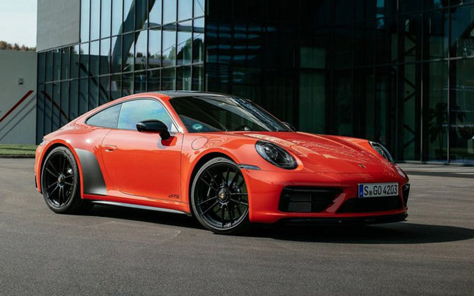 保时捷911新车型官图发布!搭3.0T引擎/3.3秒破百