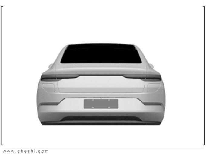 蔚来首款轿车实拍曝光竞争特斯拉国产Model 3-图4