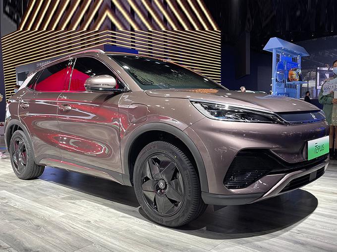 比亚迪元PLUS车展实拍!本月上市/预计13万起售