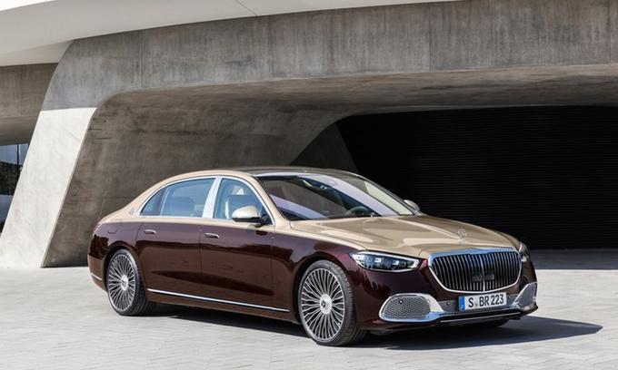全新迈巴赫S级发布 搭V12引擎 科技配置丰富