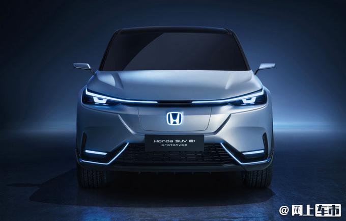 本田全新纯电动SUV 中国设计投产-尺寸和新缤智接
