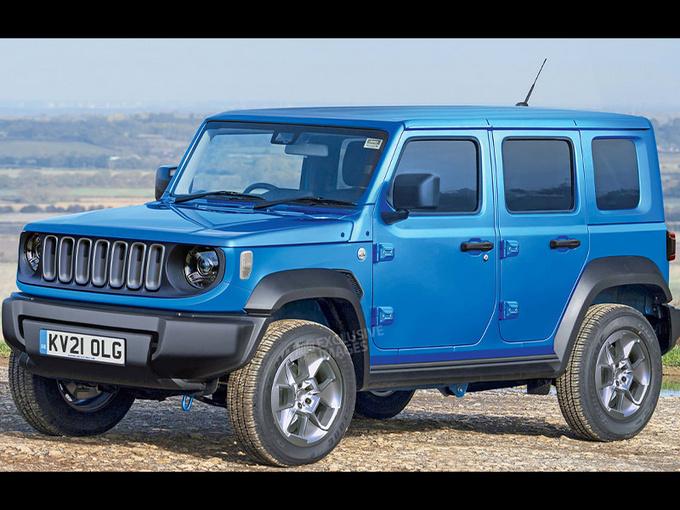 "Jeep将推""小号牧马人""!定位入门级SUV/搭新动力"