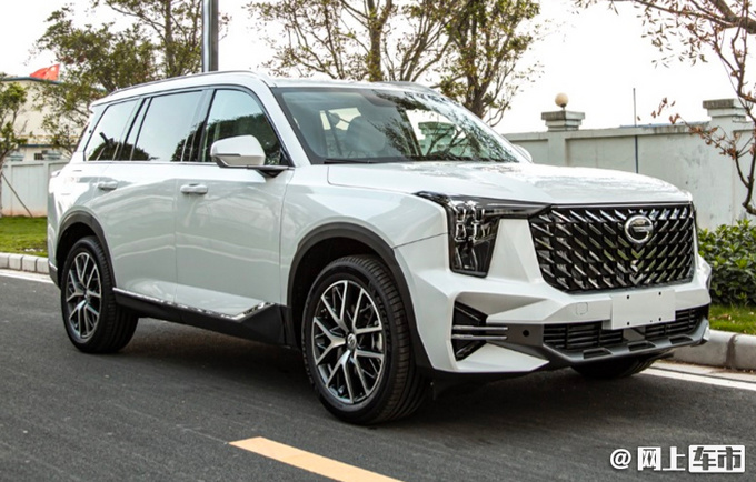 广汽传祺全新GS8实拍 尺寸全面加长 搭载丰田混动